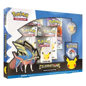 Pokémon Trading Card Game: Celebrations Deluxe Pin Collection