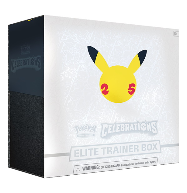 Pokémon Trading Card Game: Celebrations Elite Trainer Box