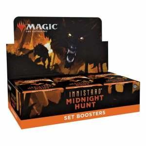 Magic the Gathering Innistrad: Midnight Hunt Set Booster Box