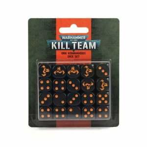 Kill Team: Ork Kommandos Dice Set