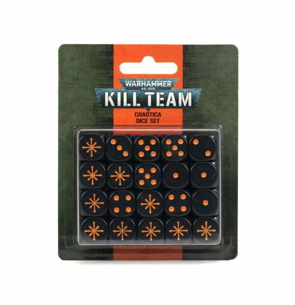 Kill Team: Chaotica Dice Set
