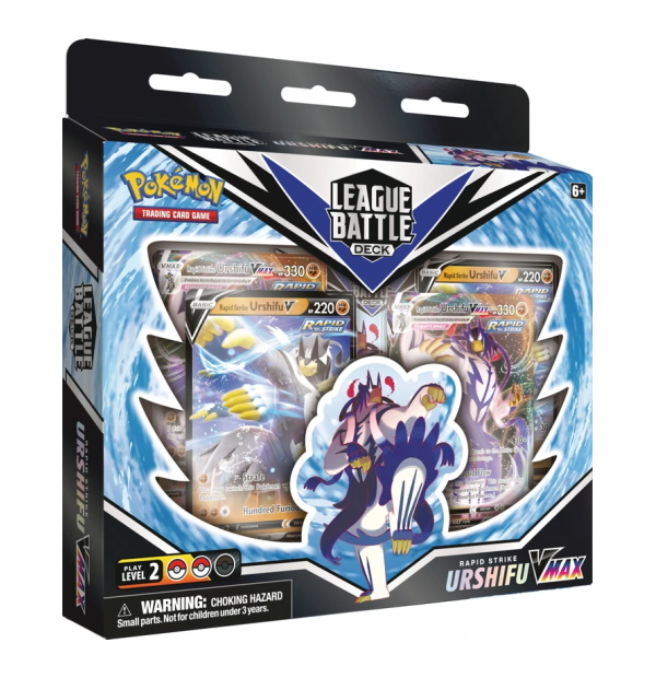 Pokémon Trading Card Game: Rapid Strike Urshifu League Battle Deck