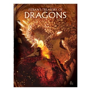 Dungeons & Dragons: Fizban's Treasury of Dragons (Alt. Cover)