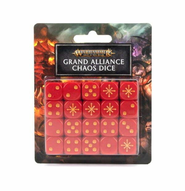 Grand Alliance Chaos Dice Set