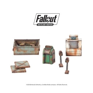 Fallout: Wasteland Warfare - Boston Street Scatter