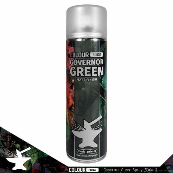 Colour Forge Governor Green Spray (500ml)