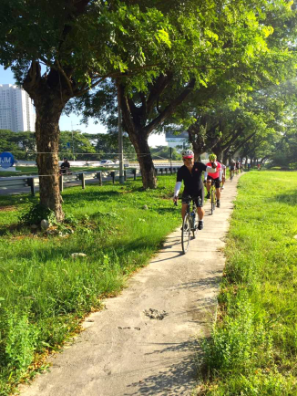 R@SKLs Penang Day 1 Bike Path 2 366 via TH Lee