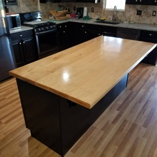 Hard Maple Countertop