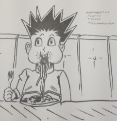 Inktober2019 Day25 Tasty
