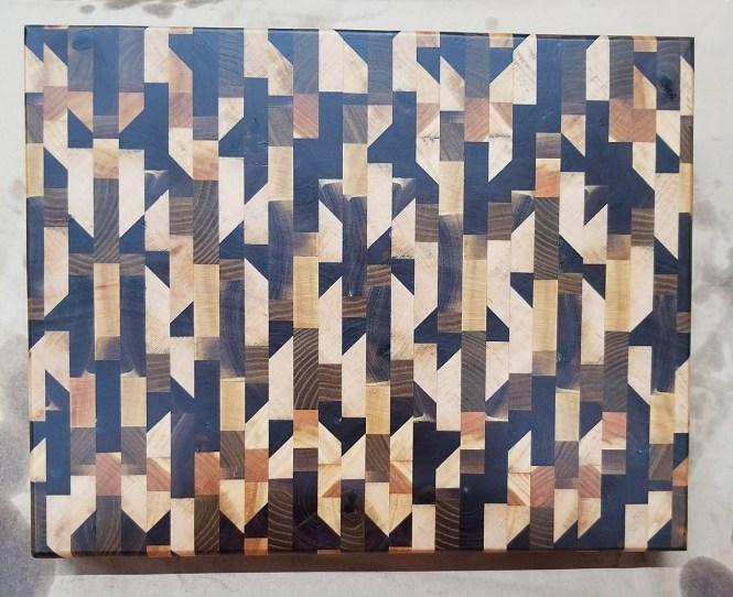 Chaos Pattern Cutting Board