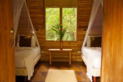 Eco-Cottage interior