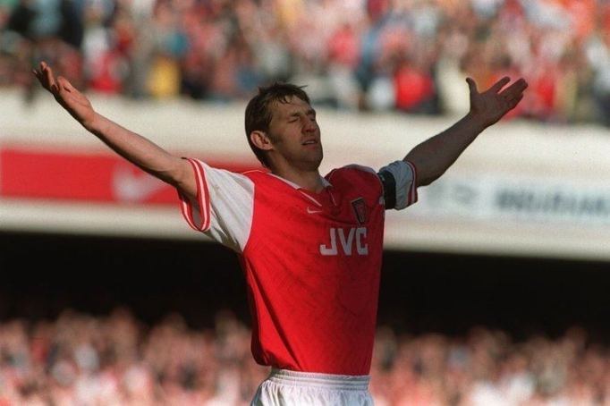 Image result for tony adams arsenal 1980s