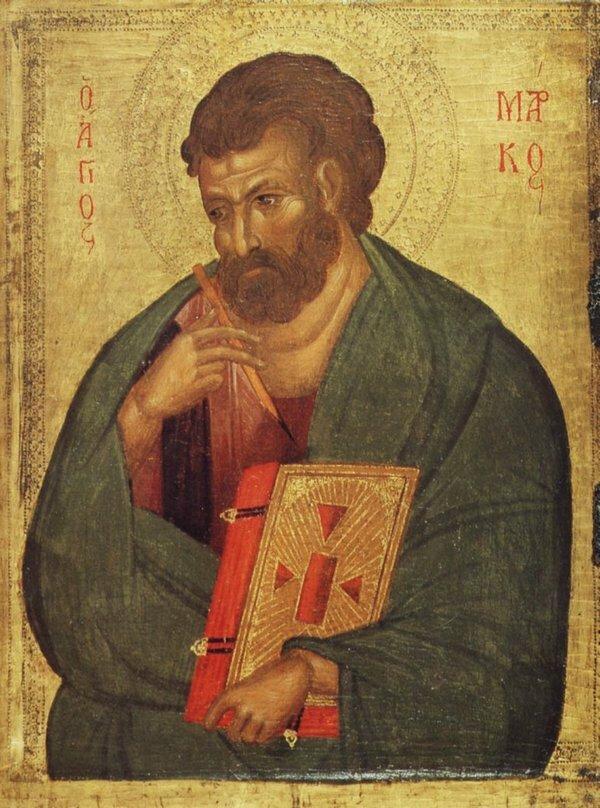 Апостол и евангелист Марк Византия. XIV век