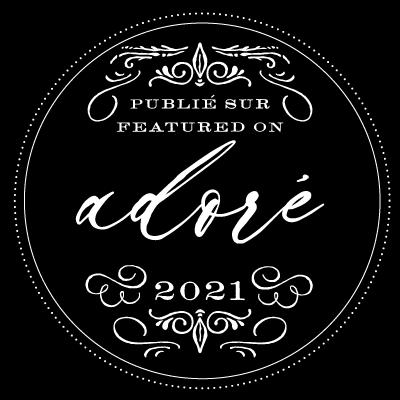Adore blog badge
