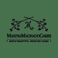 Marina Machado Cakes for Alchimeia logo in black