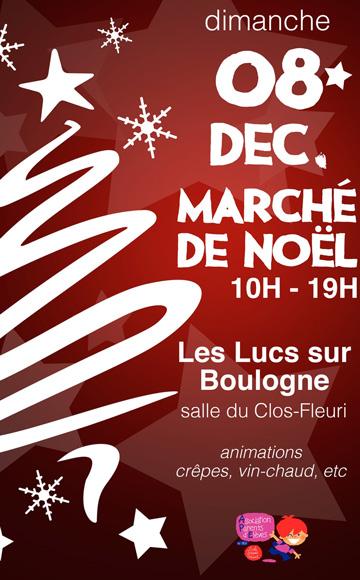marché Noël 2019 Lucs sur Boulogne