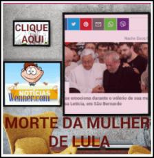 MORTE da mulher de Lula