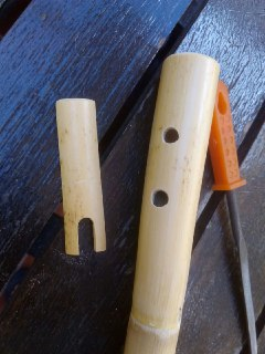 Flauta de caña tipo nativos americanos Naif_03
