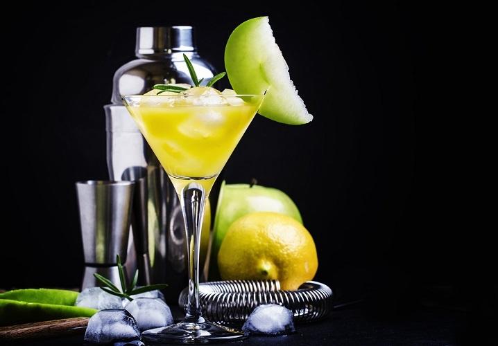 Лимон шырыны бар Martini Bianco