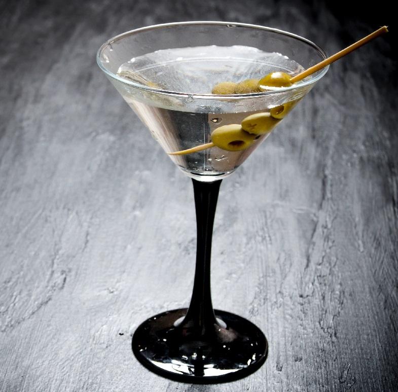 Құрғақ мартини арақпен