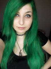 characters with green hair