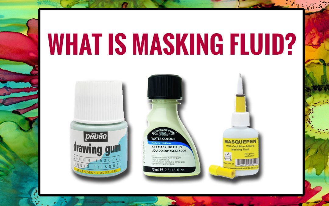 What is masking fluid?
