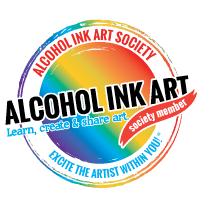 Alcohol Ink Art Society Badge