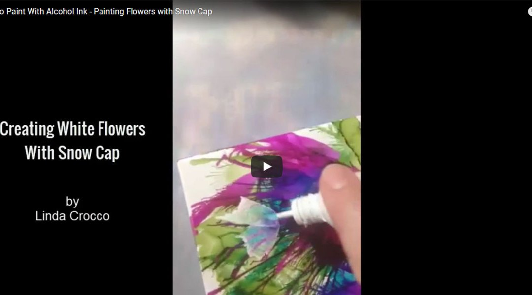 Creating Flowers with Snow Cap