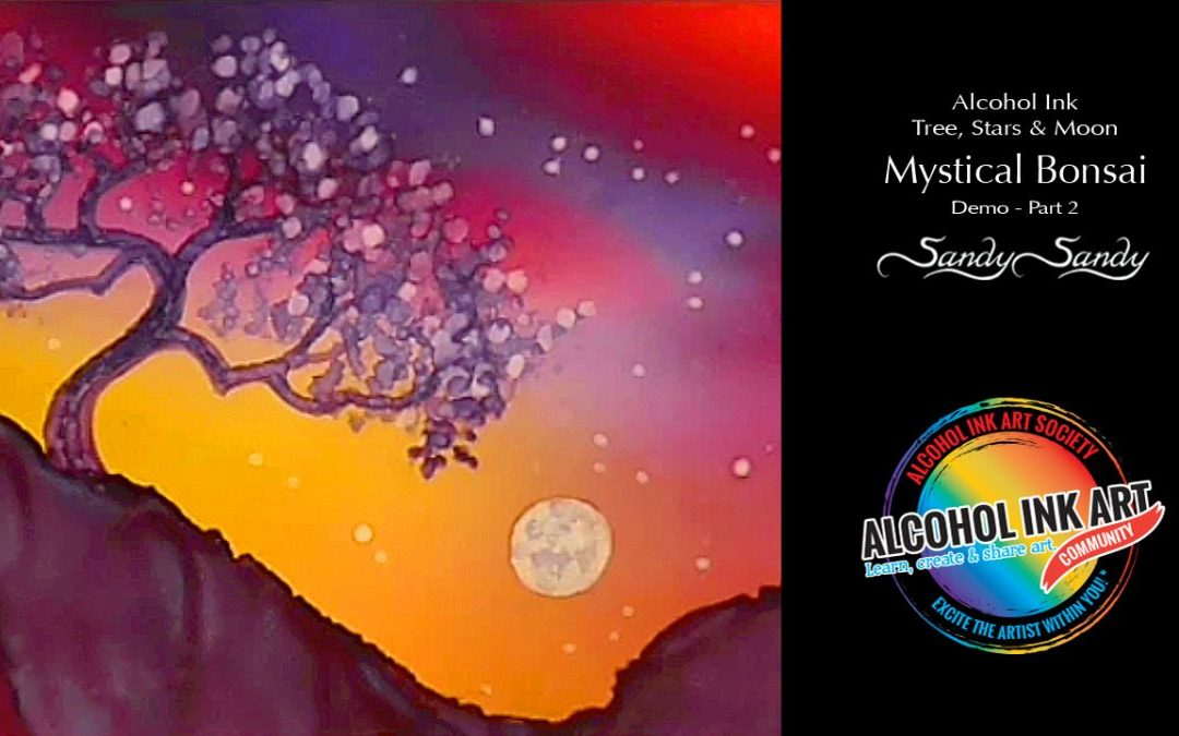 Mystical Bonsai – Time-Lapse – Smooth Variegated Sky