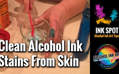 How to Clean Alcohol Ink Stains from Hands