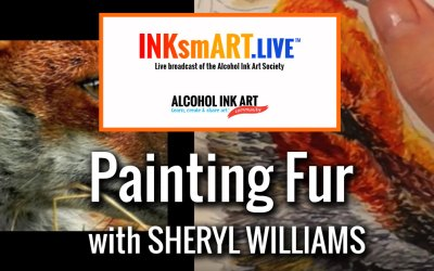 Painting Fur with Alcohol Ink