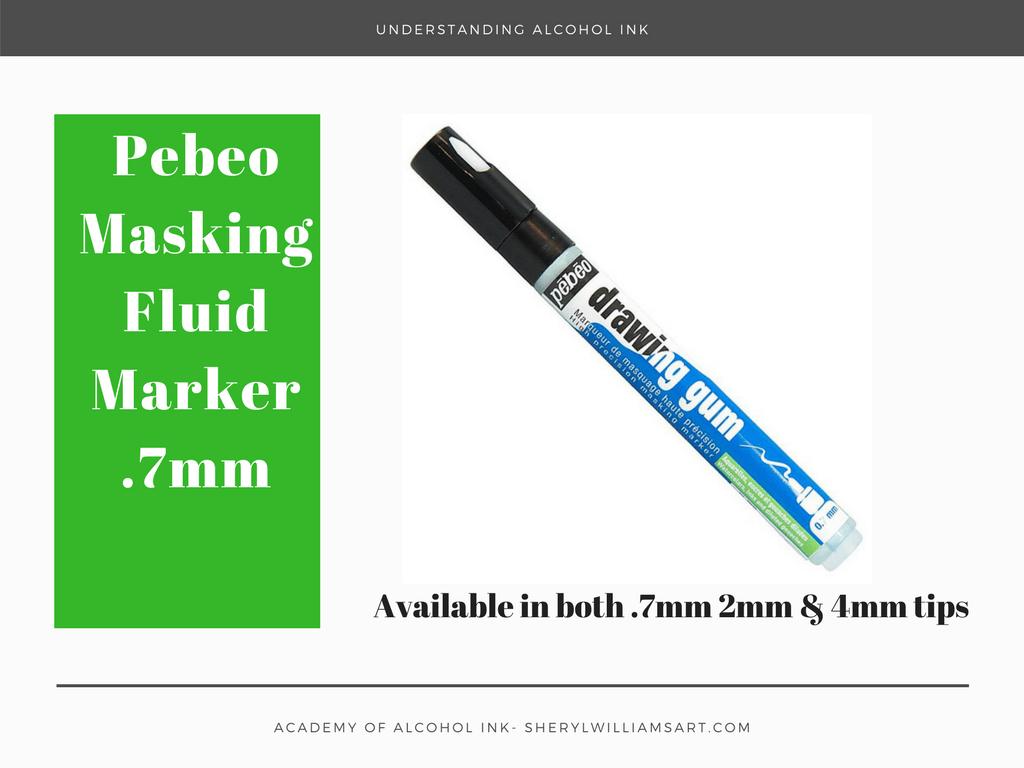 Pebeo Masking Fluid Marker .7mm