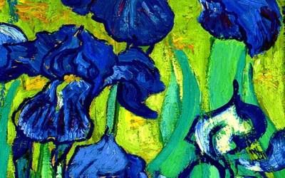 Van Gogh Style Iris