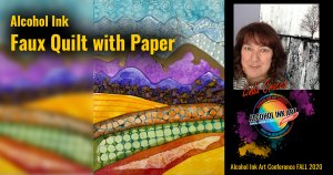 Linda Crocco - Fall quilt with Paper