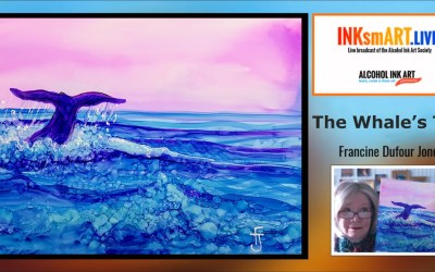 Whale's Tale – Alcohol Ink Tutortial
