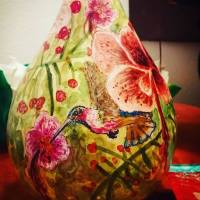 Fun With Birdhouse Gourds