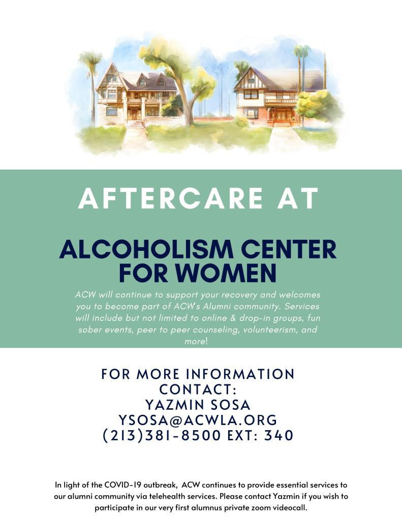 Aftercare at ACW