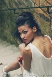 Photographe : GGD photographie pour L'Accessoire - Love.Talented.People, Fleurs de fée, Kaa Couture, Caroline Takvorian - Anne-Laure R. pour le maquillage et la coiffure -