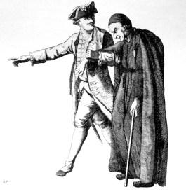 Detalle de una ilustración del momento de la expulsión.