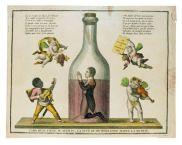 "Caricatura representando a José Bonaparte como ""Pepe botella"""