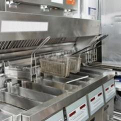 Kitchen Fryer Cabinet Door Fronts Commercial Cleaning Deep Fryers