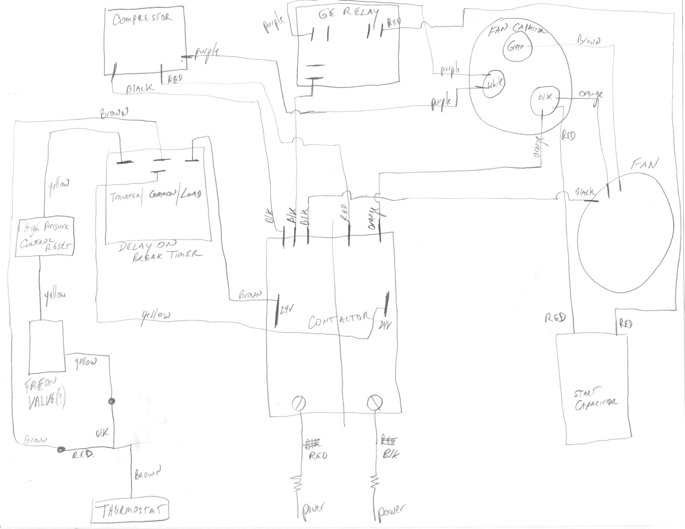 Digital Thermostat Wiring Diagram Ruud.Lennox Thermostat