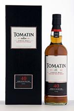 Выдержанный виски Tomatin 40 year old