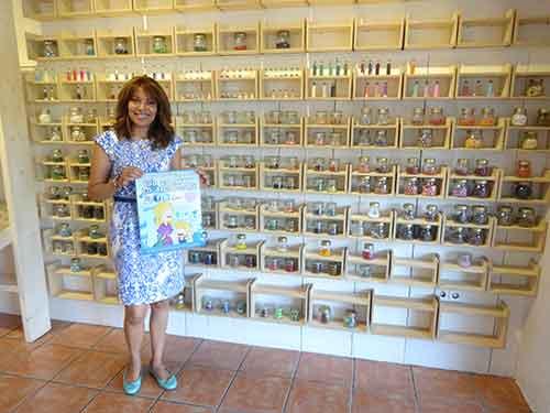Cristina Echenique de Abalorios Diseño puro Alcorcón en C/Parque Bujaruelo 37 te despierta tu lado más original con un montón de planes