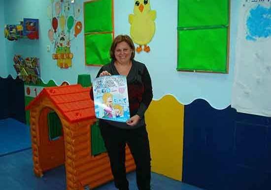 Escuela infantil Pompitas lleva 10 años ejerciendo la educación infantil en Alcorcón.