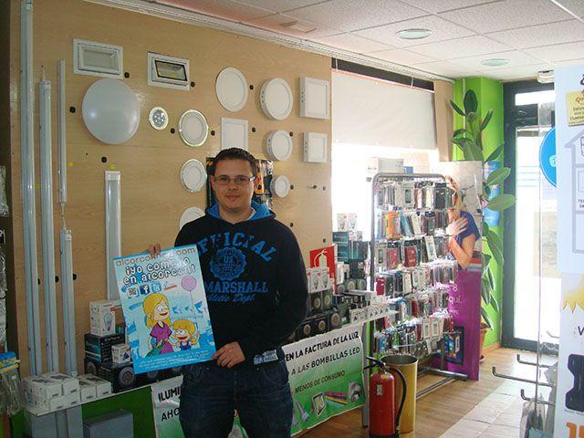Jorge de Iluminación Led Gepei Alcorcón en C/ Mayor 70 Post. te lanza al ahorro