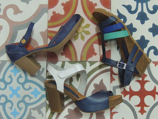 Sandalias marca yokono. Por fin!!! elegante y fresquita.