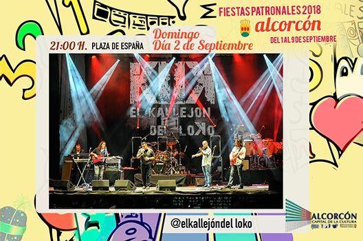 Fiestas de Alcorcón 2018 - El Callejón del Loko