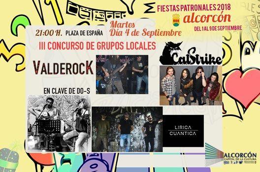 Fiestas de Alcorcón 2018 - Ganadores Valderock
