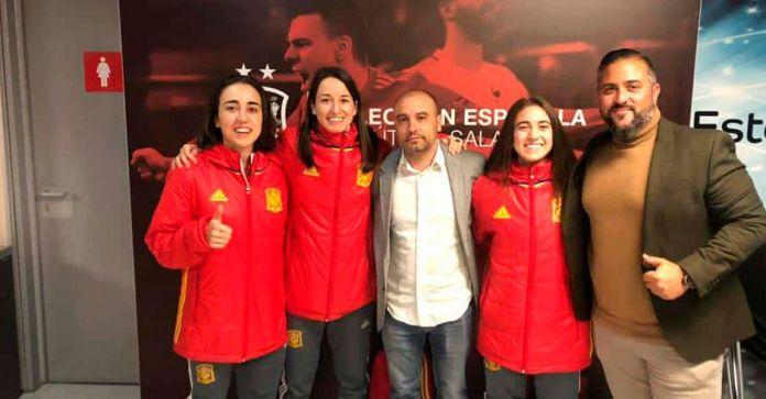 Tres jugadoras del AD Alcorcón